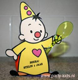 Bumba Traktatie Danoontje Met Werktekening Op Party Kids Nl