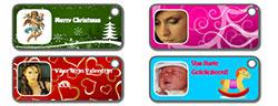 Zelf Cadeau labels maken met eigen foto