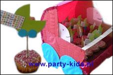 Geboortetraktatie kinderwagen