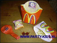 Mini Happy Meal Party Kids Nl