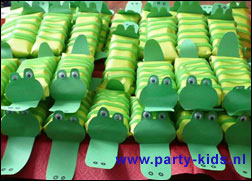 Krokodillen met Liga fruitkick