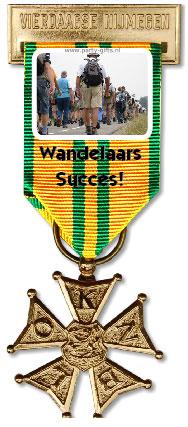 Nijmeegse vierdaagse medaille