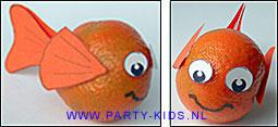 Nemo visjes van mandarijnen