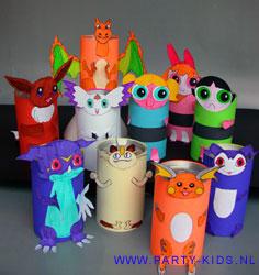 WCrol of pakje drinken met Spongebob, Shrek, etc