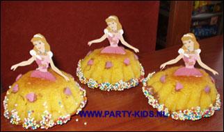 Prinsessen-cakejes