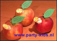 Rupsje Nooitgenoeg appel met spekje