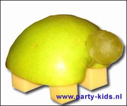 schildpadje van appel