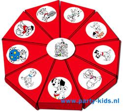 101 Dalmatiers taartpunten