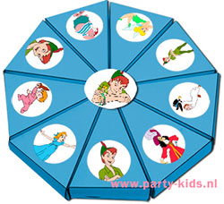 Peter Pan taartpunten