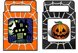 Halloween traktatie tasje