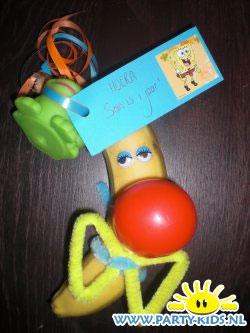Clown bananen