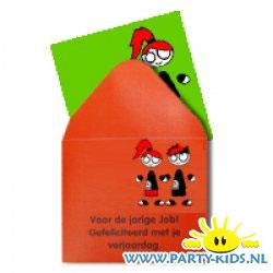 Kado kaartje met envelop FoO