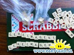 Meeste woorden maken met Scrabble letters
