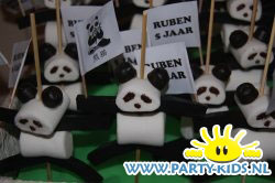 Panda van marshmallows