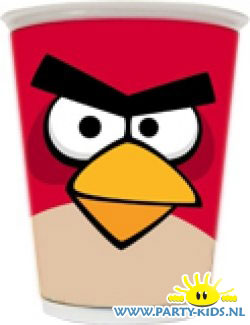 Angry Birds beker Rood (Red Bird)