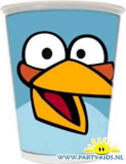 Angry Bird beker Blauw (Blue Bird)