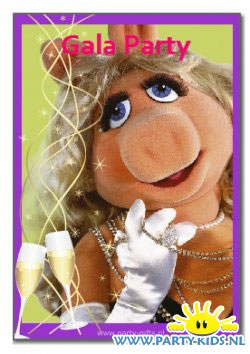 Miss Piggy (Muppets) uitnodiging