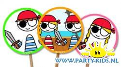 Prikkertjes voor piratenfeest