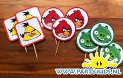 Angry Birds prikkertjes