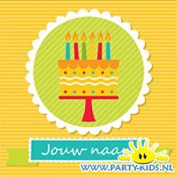 Verjaardagsposter 6 jaar