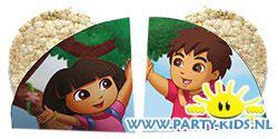 Dora en Diego rijstwafel traktatie