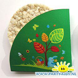 Rijstwafel of stroopwafel voor Pasen