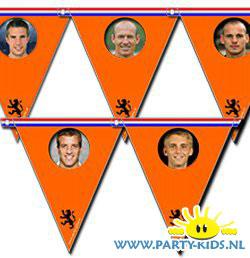 Nederlands elftal voetbal vlaggetjes