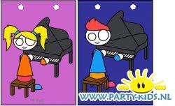 Piano traktatie tas