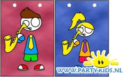 Saxofoon traktatie tas