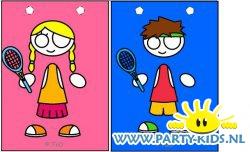 Tennissers traktatie tas