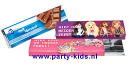 Chocoladereep Bratz Diddle Winx Fairly Odd Par