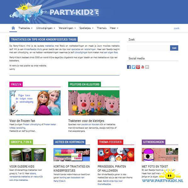 New Werktekeningen voor traktaties en kinderfeestjes Party-Kids.nl &MM36