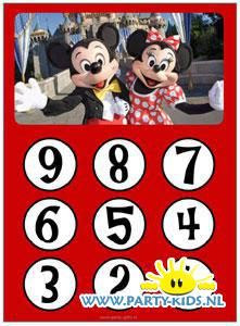 aftelkalender Mickey Mouse