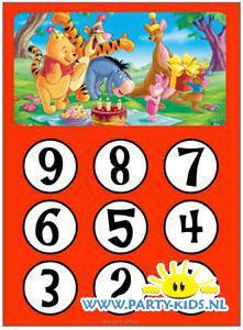 aftelkalender Winnie de Pooh