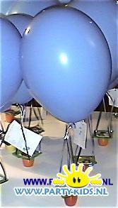 Luchtballonnen met danoontje