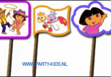 Prikkertjes met Dora en Diego