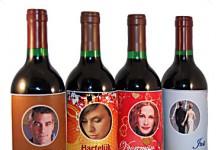 Zelf (Wijn)fles etiketten maken met foto