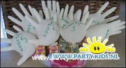 handschoen voor vijf jarige