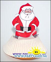 Kerstman cakeje