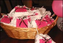 Geboorte (met mini-luiers van servetten)
