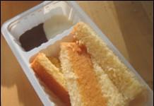 Patatje met mayonaise en sate