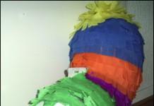 Pinata beest van ballonnen