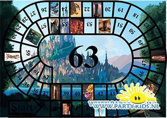 Rapunzel spelbord