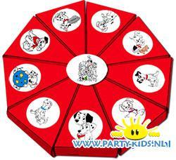 taartpunten dalmatiers