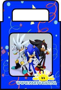 Sonic traktatie tas