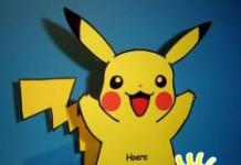 pikachu met snoep