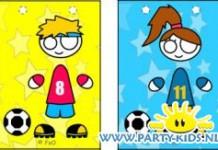Voetbal jongen of meisje tasje