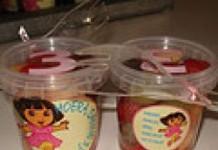 Fruitbakje Dora (of ander thema)
