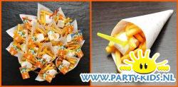Puntzak friet met mayo