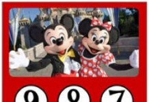 Mickey Mouse aftelkalender